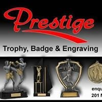 Prestige Trophy, Badge & Engraving