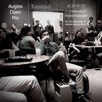Augies Coffee House Open Mic