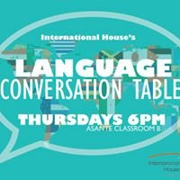 Language Conversation Tables at I-House