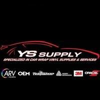 YS Supply Car Wrap Vinyl Supplier