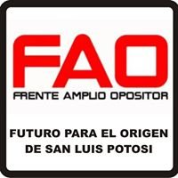 FAO Frente Amplio Opositor a New Gold Minera San Xavier