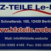 KFZ TEILE Le-Pru    Autoteile Prütz