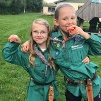 De grønne pigespejdere i Slagelse