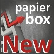 Papierbox Buchhandel, Printmedien, Werbetechnik