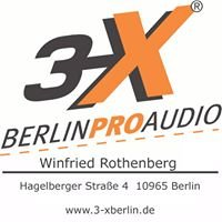 3-X Berlin Pro Audio