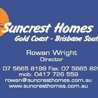 Suncrest Homes -Gold Coast - Brisbane South West