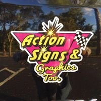 Action Signs And Graphics