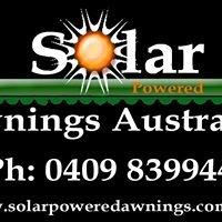 Solar Awnings Australia