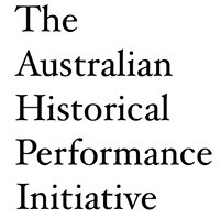 The Australian Historical Performance Initiative