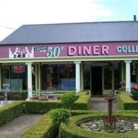 Cruzin in the 50's Diner