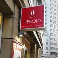 """Hebold Lederwaren & Accessoires"""""""