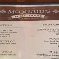 Mcquaids Bar and Restaurant