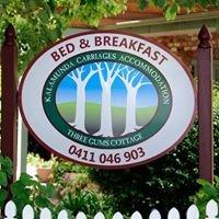Perth Hills Accommodation | Kalamunda Carriages & 3 Gums Cottage