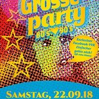 Die Grosse Party - 80's knutscht 90's