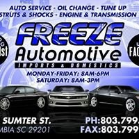 Freeze Automotive/ Tony Ellison