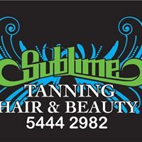 Sublime Tanning, Hair & Beauty