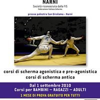 Sala Scherma CARLO CARNEVALI - Narni