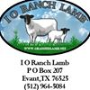 I O Ranch Lamb