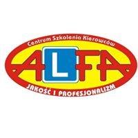 ALFA Centrum Szkolenia Kierowców