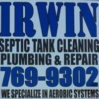 Irwin's Septic Tank Cleaning, Plumbing & Repair LLC