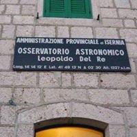 """Osservatorio Astronomico Provinciale """"Leopoldo Del Re"""""""