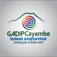 GADIP Municipio De Cayambe