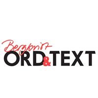 ORD & TEXT