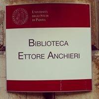 Biblioteca di Scienze Politiche 'Ettore Anchieri'