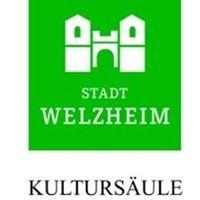 Seite der Kultursäule Welzheim