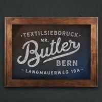 Mister Butler - Siebdruck & Grafik