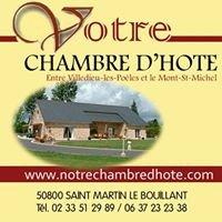 Chambre d'hôte en Normandie