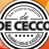 Trattoria Birreria Pizzeria De Cecco