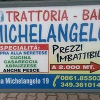 Trattoria Bar Michelangelo a Nereto