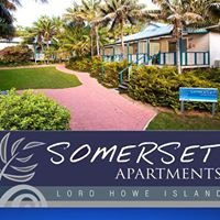 Somerset Apartments, Lord Howe Island