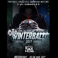 Winterball Football Freestyle event