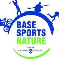 Base sports nature stade d'eaux-vives de Cesson-Sévigné