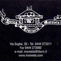 Antica Trattoria Moreieta
