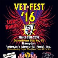 """Vetfest""""16 Music Fest. March 26th"""