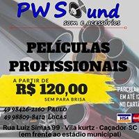 PW Sound som e acessórios