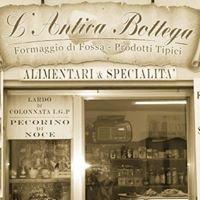 L'Antica Bottega Talamello: Formaggio di Fossa e Prodotti Tipici