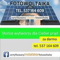 Certyfikowany Instalator Fotowoltaika