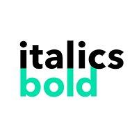 Italics Bold