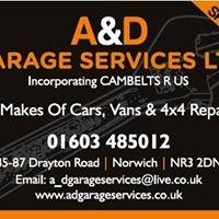 A & D Garage Services Ltd