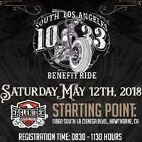 "South Los Angeles ""10-33"" Benefit Ride"