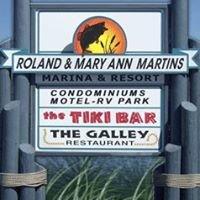 Roland & Mary Ann Martin's Marina