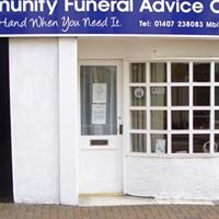 Community funeral advice centre