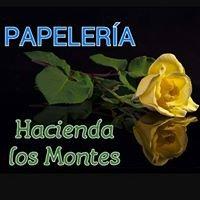 """Papeleria """"Hacienda los Montes"""""""