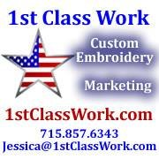 1st Class Work Custom Embroidery