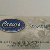 Craig's High Performance