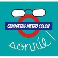 Camisetas Personalizadas Metro Colón